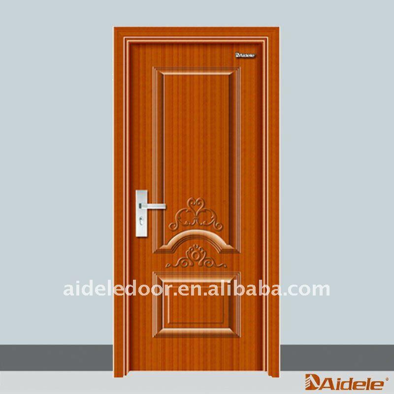modernas de entrada puerta de madera de diseño