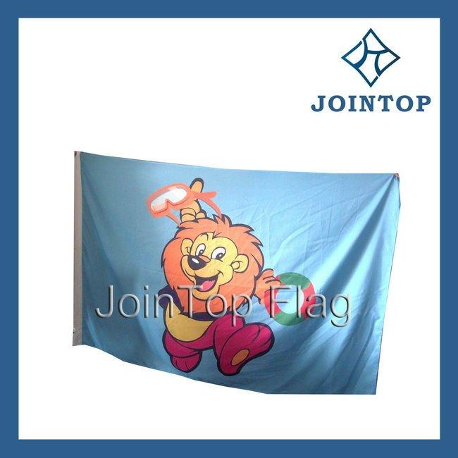 флаг лев