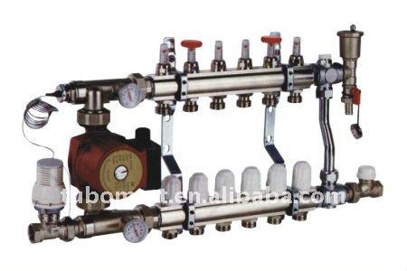 Collettore per riscaldamento a pavimento sistemi di riscaldamento a pavimento e componenti id - Collettori per riscaldamento a pavimento ...