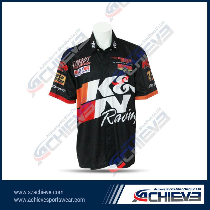 Camisas tipo rally formula1 escuderia clubes bordadas 35000 en for Custom car club shirts