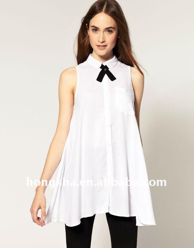 mujeres 2013 escribir de verano de los modelos de tela en blusas de