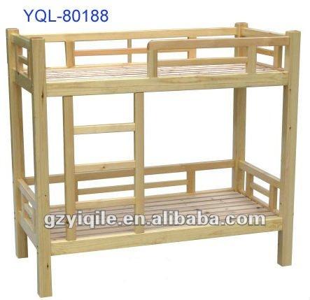 Doble de madera cama litera para ni os camas - Doble cama para ninos ...