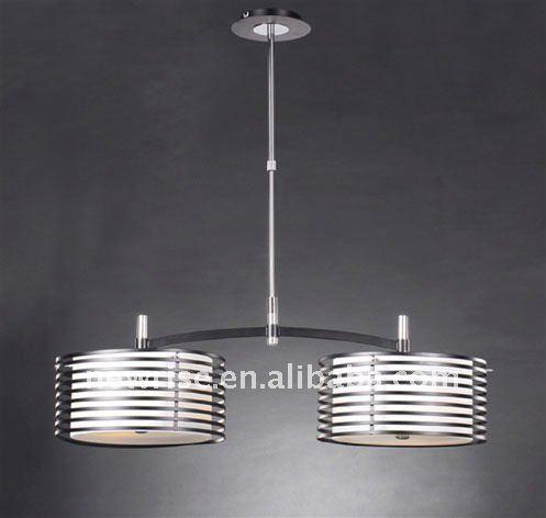 2013 moderna luces colgantes de hierro cristal de la - Lampara colgante comedor ...