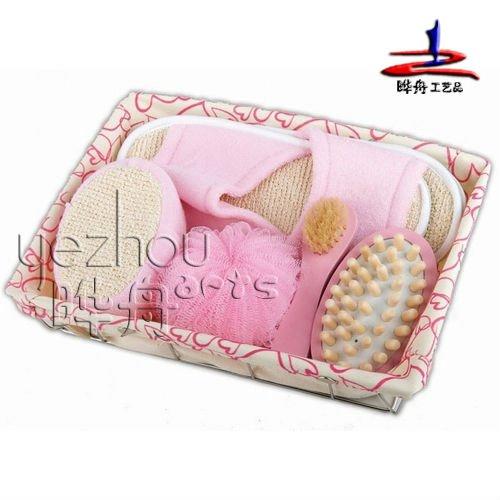 Set De Baño En Genero:de alta calidad de set de baño y accesorios de tela en la bandeja