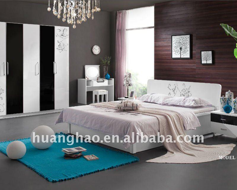 Chambre A Coucher Lit King Size : Chambre à coucher moderne. lit ...