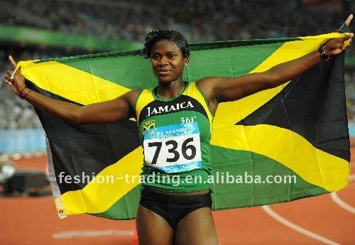 ямайский флаг