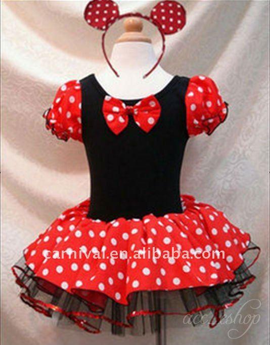 Minnie mouse niñas tutú de ballet de danza disfraces ( bscc - 1167 )