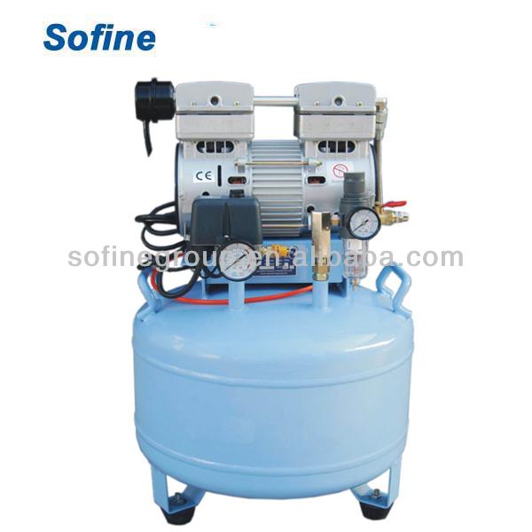 Dental compresor de aire sin aceite silencioso compresor for Compresor de aire silencioso