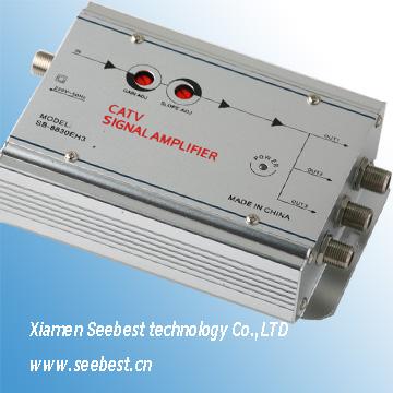 Catv amplificador de se al tv amplificador de televisi n - Amplificador senal tv ...