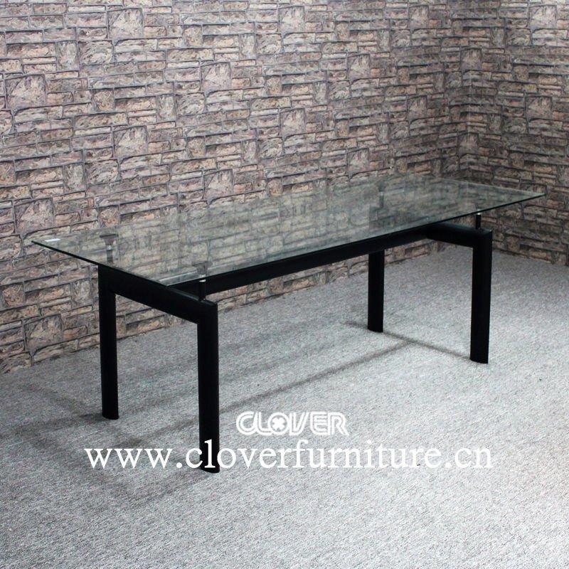 Le corbusier pranzo lc6 tavolo tavolo da pranzo id - Tavolo cristallo le corbusier ...