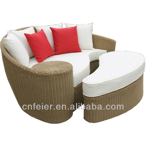 A6085sf exterior artificial de mimbre muebles de jard n de for Muebles de mimbre y rattan