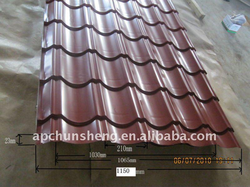Techos azulejos tipos tejas identificaci n del producto for Tipos de techos de tejas