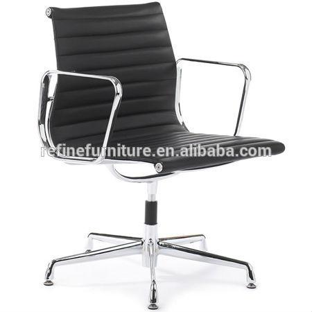 Chaises de bureau en cuir sans roues rf s072g chaises en - Roue de chaise de bureau ...