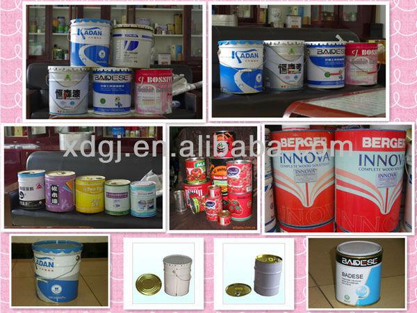 10 20l peinture acier chimique tain peut machine de fabrication machines - Fabricant boite fer blanc ...