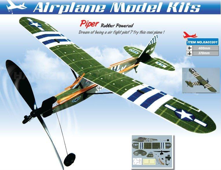 Модель самолета с резиномотором своими руками