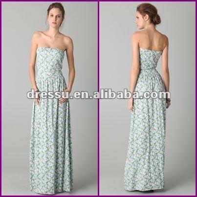 Strapless Maxi Dress on Moda Strapless Impress  O Atacado Maxi Dress   Portuguese Alibaba Com