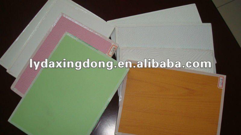 Vinyl Covered Drywall : Recubiertos de vinilo yeso panel techo para placa