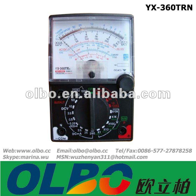 мультиметр инструкция yx 1000a