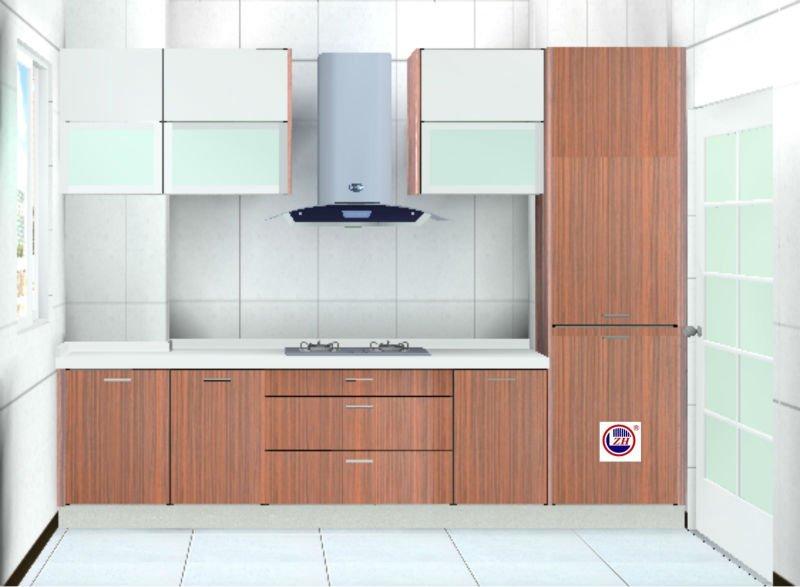Muebles de cocina moderna( hgih brillante de acrílico tablero mdf