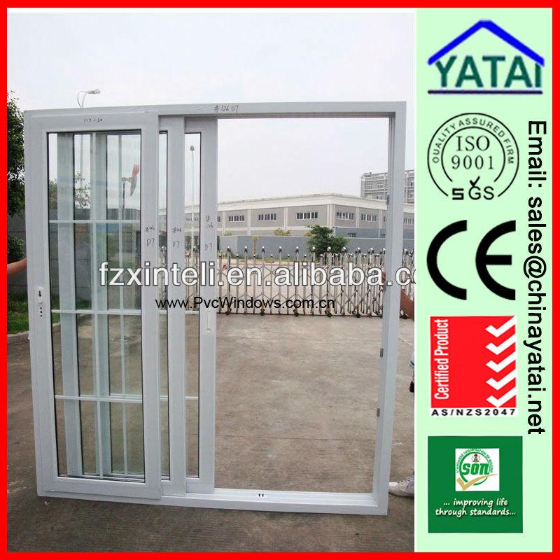 Porte coulissante pvc double vitrage window