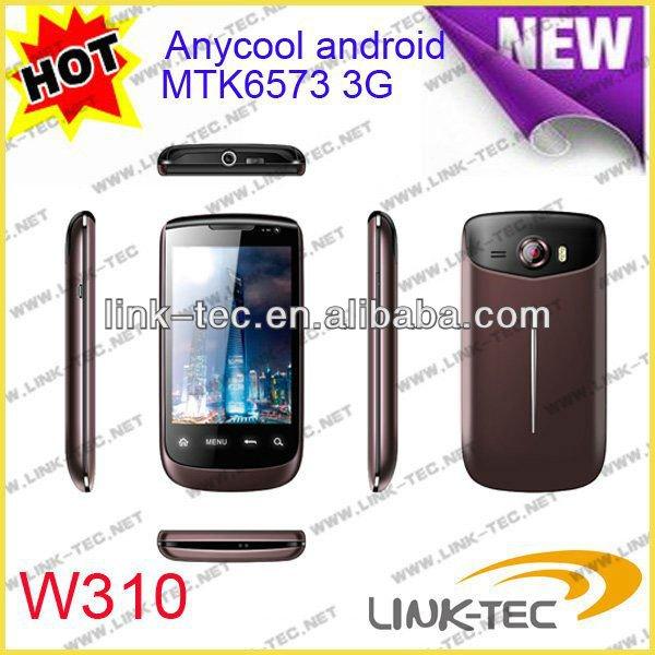 Мобильный телефон W310 Anycool 3.5 мобильный телефон android экрана