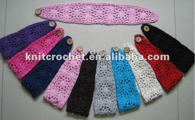 Lenceria De Baño TejidaDiadema a Crochet Para Nina