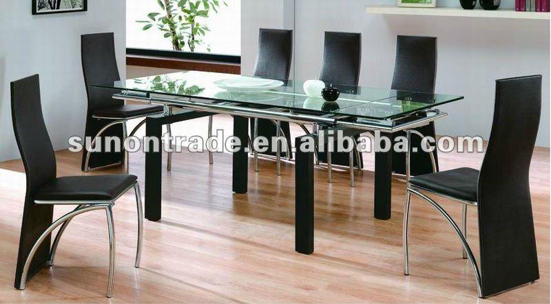2012 modelo de ampliaci n de madera mesas de comedor con