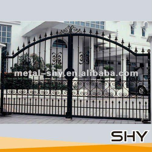 cerca de jardim ferro : cerca de jardim ferro:forjado portão de ferro para o jardim-Cerca, rede, & portões-ID do