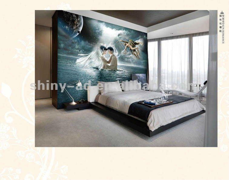 decorazioni romantiche della parete della camera da letto-Paper Crafts-Id pro...