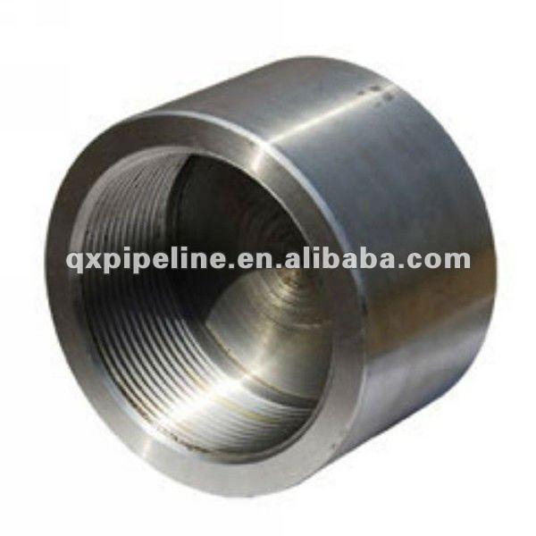 Aluminum tubing end caps for