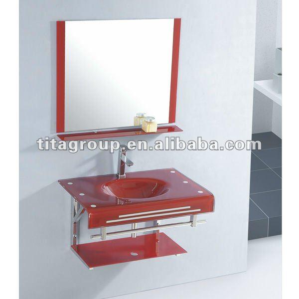 Kit Bancada Banheiro Vidro : De vidro do banheiro bacia bancada banca