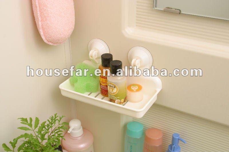 accessori da bagno mensola con ventosa-Impianti di ...