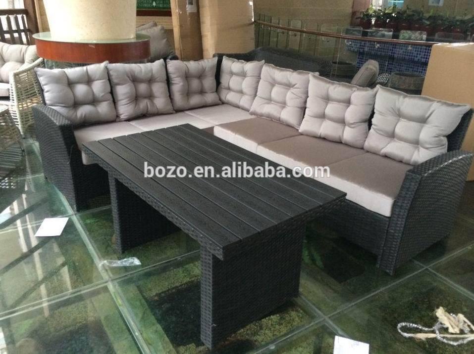Al aire libre rat n sof seccional conjunto muebles for Liquidacion muebles jardin