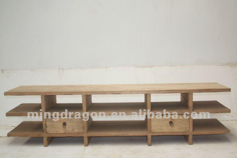 chino muebles antiguos de madera de olmo de tv gabinete de ...