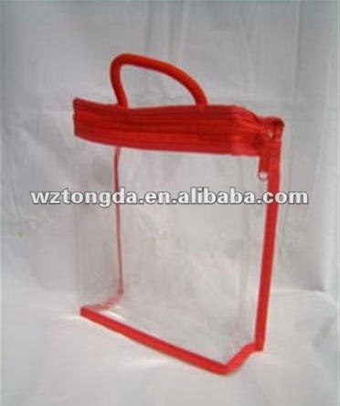 Pvc transparente bolsas de pl stico con cierre de - Bolsas de plastico con cierre ...