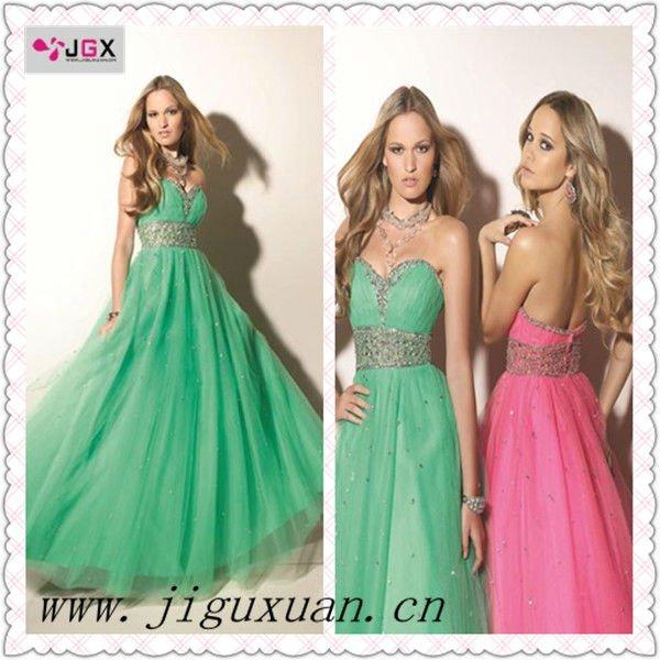 Vestido verde jade