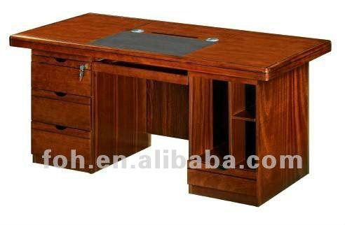 Bureau d 39 ordinateur de bureau classique fohk 1646 table en bois id du produit 554149107 - Bureau classique ...