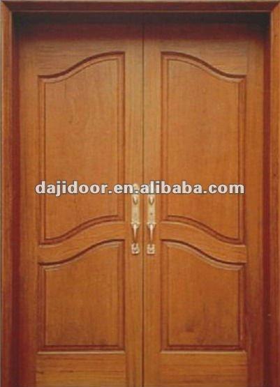 Puertas exteriores de madera para la casa americana dj for Puertas dobles de madera