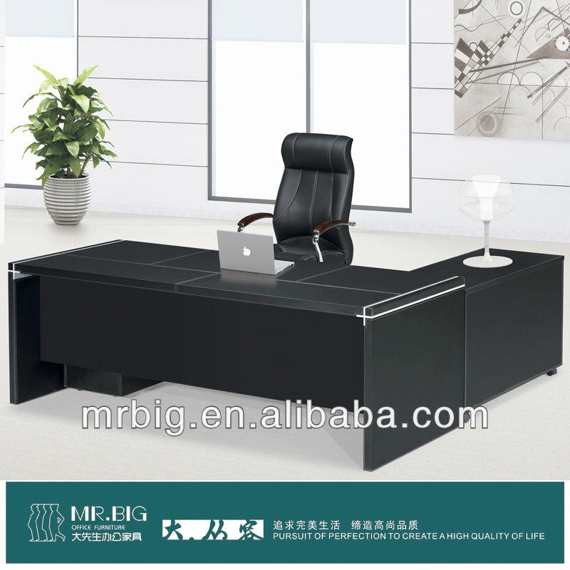 De oficina de cuero muebles de mdf de mesa pt13Mesa de madera