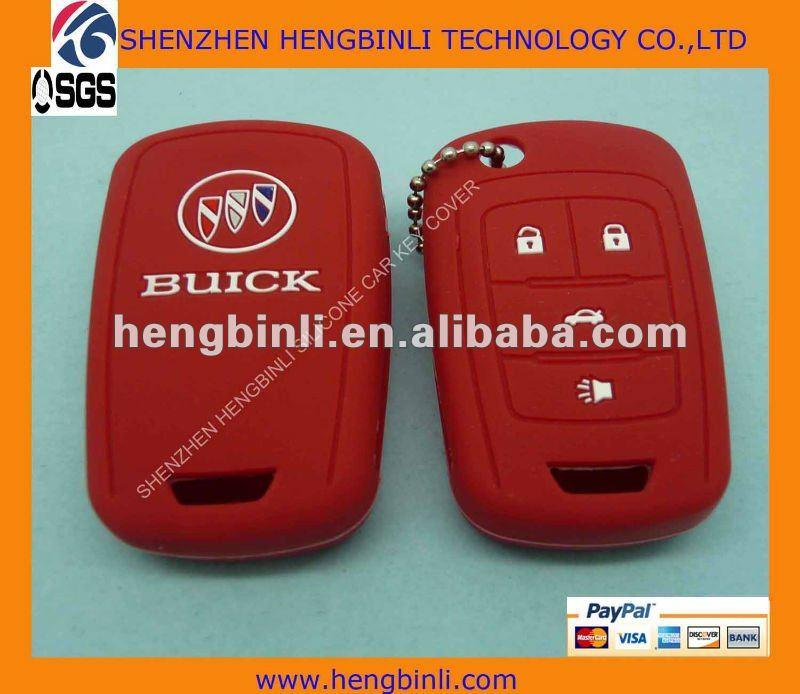 2012 fashinal y durable de silicona caso llave del coche para ...