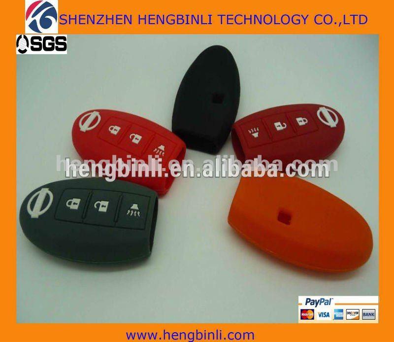 Bajo - costo para funda de silicona clave con 3 o 4 botón para ...