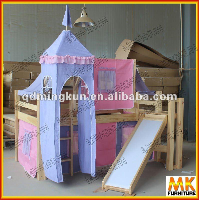 nuovo stile moderno letto singolo con tenda per i bambini-Letto-Id ...