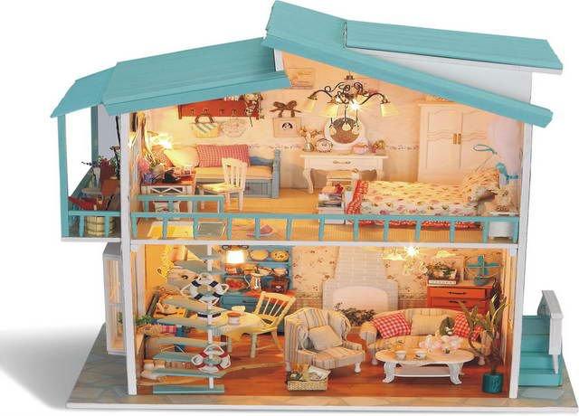 Juguetes de madera para los ni os casa de ensue o casa - Casa de los juguetes ...