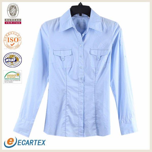 de lujo para damas blusa de diseños para la oficina - spanish.