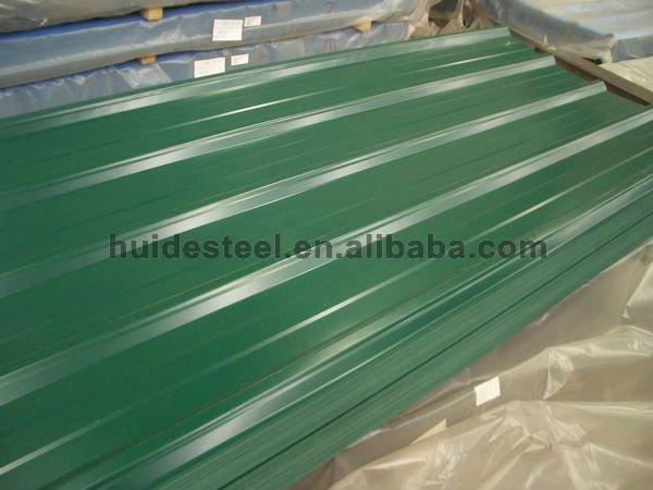 Yx25 210 840 modelo verde ral6005 mejor precio de for Modelos de techos de chapa