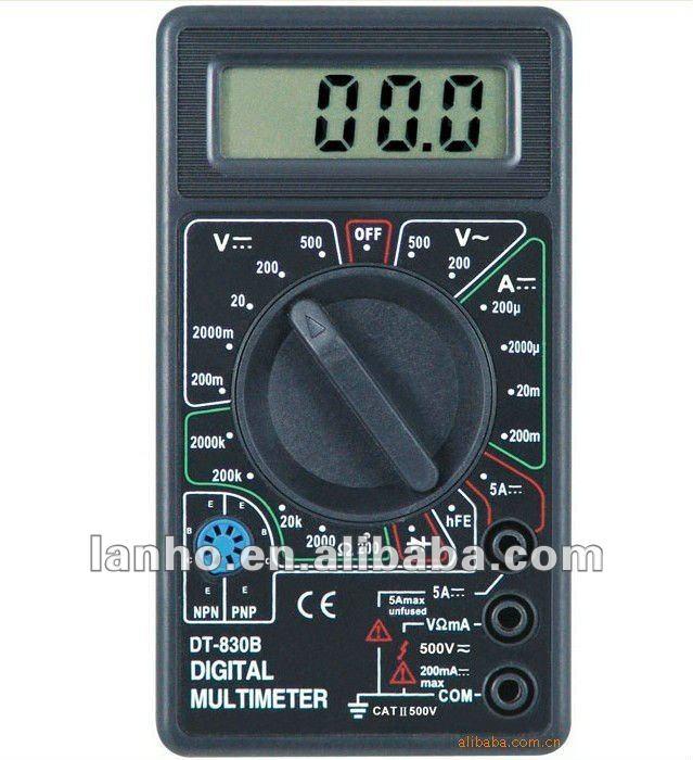 мультиметр цифровой дт 830 в видео инструкция - фото 11
