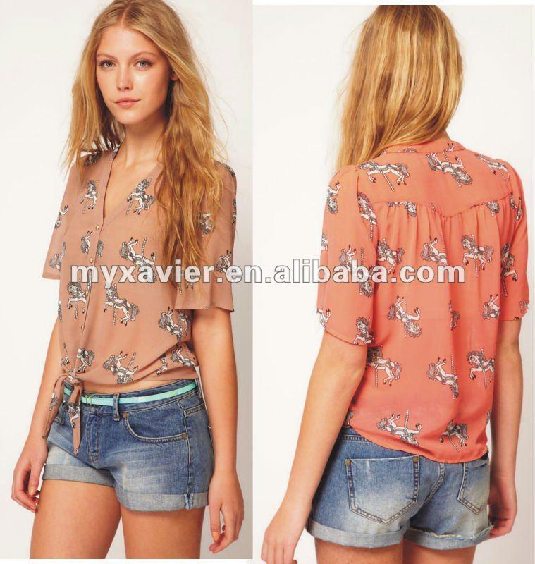 Pin Moda And Post Blusas Fashion Hawaii Ajilbabcom Portal on Pinterest