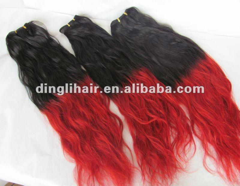 hot sellling l che vague profonde extension de cheveux id du produit 581858047. Black Bedroom Furniture Sets. Home Design Ideas