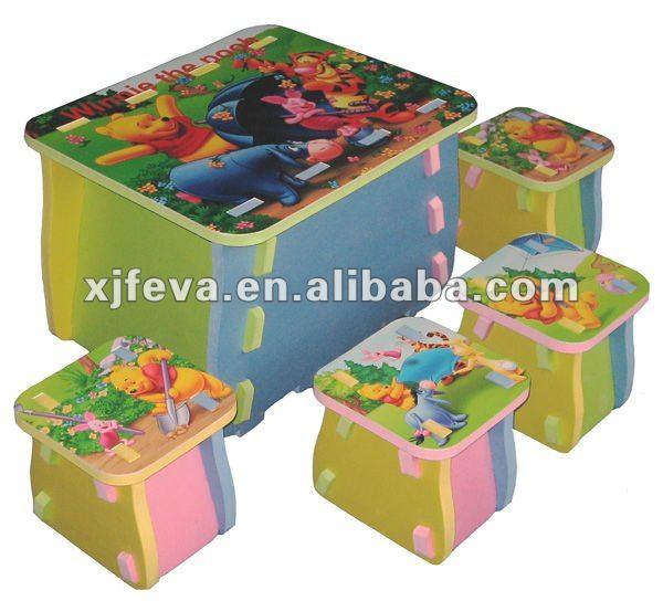 kid mobili per bambini tavolo di studio di progettazione eva tavolo e ...
