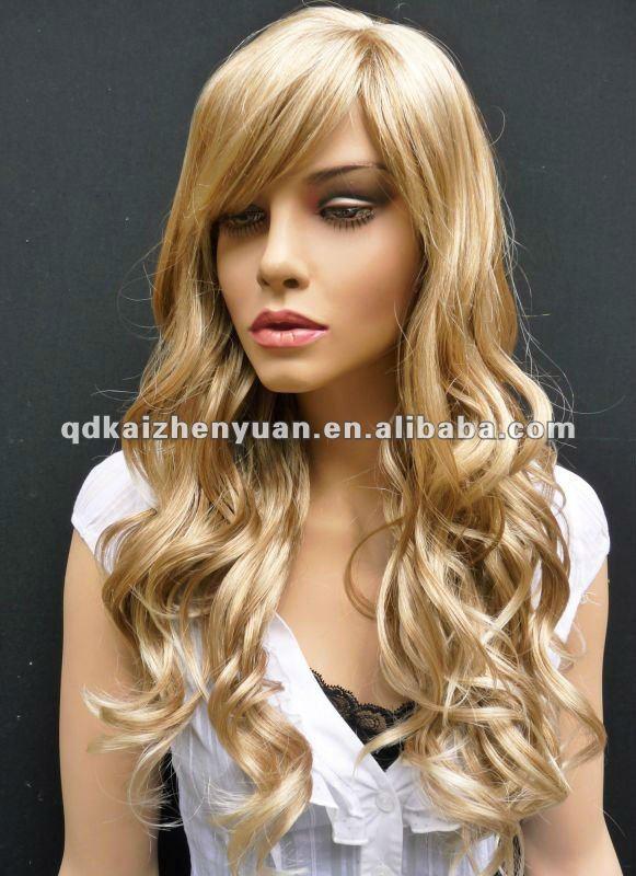 Long Dirty Blonde Hair Wig